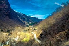 Winding Road (Tony Shertila) Tags: cruise europe pig flåm sognogfjordane norway nor 20170415125406norwayflamlr fjord valley road sky clouds
