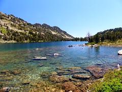 Clear water (Josep M Farré) Tags: neouvielle lac pyrenees pirineos pirineus aubert