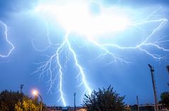 Lightning in Braga, Portugal (guimeixen) Tags: lightning weather portugal braga relâmpago trovoada nuvem thunderstorm meteorology severe nikon d5500 night cumulonimbus clouds
