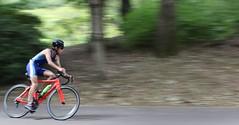 Cycling (seiji2012) Tags: 昭和記念公園 トライアスロン 自転車 レース bicycle racing cycle showakinenpark blur