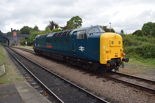 55019 ROYAL HIGHLAND FUSILIER at Leicester North, Great Central Railway