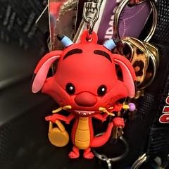 Mushu Key Fob (LionessLeesha) Tags: mushu mulan disney funko keychain fob plastic toy figurine dragon collectible mysterymini fanx2018 fanx slcc2018