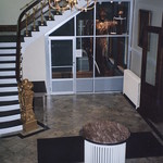 Jamestown New York - Gov. Reuben Fenton Mansion - Lobby area - Statue of Justice from Old Courthouse thumbnail