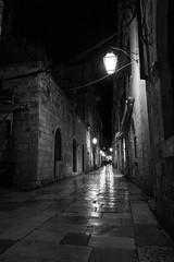 Old Town, Dubrovnik (Kenster1980) Tags: monochrome blackandwhite blackwhite street cobbles night alleyway dubrovnik longexposure ndfilter rebelt5i 700d eos canon