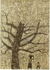 Postcrossing KR-216262 (booboo_babies) Tags: painting korean art tree southkorea postcrossing