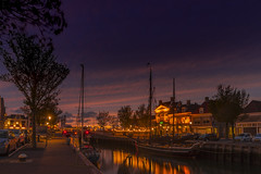 Sunset in Harlingen (hph46) Tags: harlingen niederlande thenetherlands harbour sunset sky night sony alpha6500 canon1635mm14lisusm