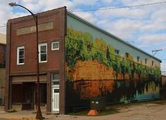 Mural (pics by ben) Tags: iowafalls iowa ellsworth hardin walk northiowa iowariver midwest