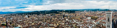 2015.10.13 Florence Duomo Pano (Brunswick Forge) Tags: 2015 italy italia florence firenze duomo nikond7100 pano panorama tuscany toscana sky air historic storico travel architecture grouped favorited