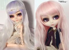 2008 vs 2018: Fura (·Yuffie Kisaragi·) Tags: doll pullip princes rosalind fura obitsu rewigged rechipped