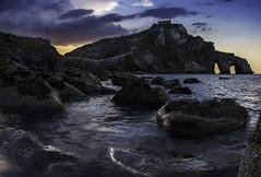 San Juan (aba.argazkiak) Tags: dragonstone storm sunset san juan gaztelugatxe bakio euskadi españa