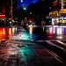 rainy street nyc