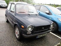 A Long Way From Home (occama) Tags: autobianchi a112 oldcarcornwall uk alongwayfromhome italian germany german plate reg old car cornwall