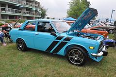 Datsun 510 (Gearhead Photos) Tags: honda toyota mazda beat prelude civic subaru wrx stii forester brz nissan pao 240z 260z 280z 370z skyline 510 all japanese car meet north vancouver bc canada