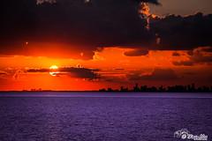 Miami City Sunset (Thiago Alex - Photomaker) Tags: usa photomaker miami miamibeach sunset pôrdosol florida eua unitedstates canon canon7d