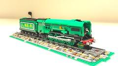 LEGO LNER P2 'Prince of Wales' (Britishbricks) Tags: british engine steam train princeofwales p2 moc wip lner lego