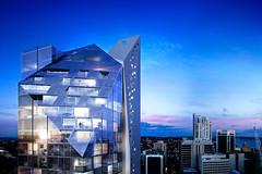 Polaris North Sydney (safetyline.jalousie) Tags: polarisnorthsydney louvrewindow architecture windowdesign cottier architects doubleglazedwindow automatedwindow acousticwindow glasswindow