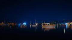 Boats at night! / Gece tekneler! Foça 2018