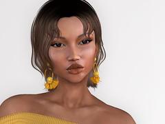 Cheri (Alea Lamont) Tags: ndmd ethnic skins black female avatars afro american latina cuban women vista diana bento head maitreya lara body sintiklia hair addams swimsuit tres chick event ellure earrings