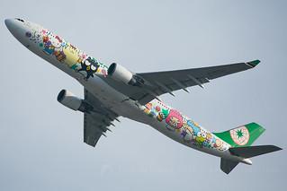 B-16333 A330-300 Eva Air