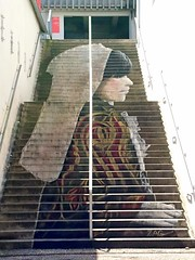 La Morlaisienne - La Renaissance (Kunst en Cultuur) Tags: arts kunst art poetry poesie poezie streetart morlaix finistere bretagne breizh bzh wandmalerei muurschildering peinture peinturemurale zag morlaisienne renaissance manufacturedestabacs brittany