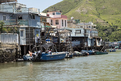 Tai O Village (syf22) Tags: fishing village stilt wooden house living accommodation home water watercourse building tanka community fisher structure