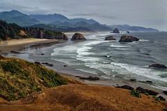 Oregon Coast (Don César) Tags: ecola oregon cannonbeach sea mar playa beach america unitedstatesofamerica usa unitedstates estadosunidosdeamerica norteamerica northwest water rocks pacifico pacific
