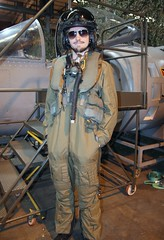 Suited up (kitmasterbloke) Tags: raf royalairforce wittering hawkersiddeley harrier av8b jumpjet vstol aircraft relic wreck museum heritage