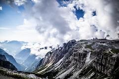 Looking down (Henka69) Tags: mountain landscape landskap hiking wandern vandring dolomites