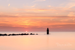See you tomorrow (Ellen van den Doel) Tags: 2018 natuur landscape sunset nature long nederland outdoor september sea summer landschap exposure water zonsondergang netherlands seascape zomer color clouds brouwersdam