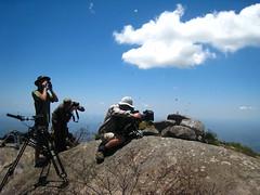BBC NHU film crew