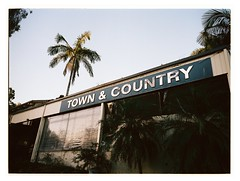 Town & Country i (@fotodudenz) Tags: fuji fujifilm ga645w ga645wi medium format point and shoot film rangefinder 28mm 45mm 2018 120 gold coast queensland australia kodak portra 400 town country motel
