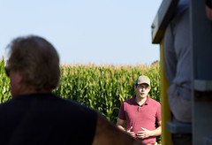 2018_08_22_ArlingtonFieldDay09 (uw-extension) Tags: agricultureresearch agronomy arlington august collegeofagriculturelifesciences corn crops farm fieldtour outdoors plants research researcher science scientist soil soilfertility soilfieldday soybeans summer tours tractor uwcooperativeextension uwextension uwmadison universityofwisconsin universityofwisconsinextension wisconsin madison andrew stammer