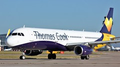 G-TCVD (AnDyMHoLdEn) Tags: thomascook a321 egcc airport manchester manchesterairport 23l