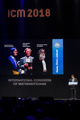 PHOTO CHRISTHIAN RODRIGUES/ R2/ ICM 2018 (ICM 2018 - Rio de Janeiro - Brazil) Tags: 2018 congress congresso icm internacional international matematicos mathematical mathematicians riocentro