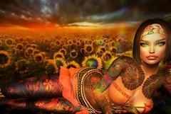 Serafina (LillyCatBraveheart) Tags: cbat cyberstarbodyarttattoos slink hourglass gacha promo secondlife outfit akeruka maiahead elua tattoos