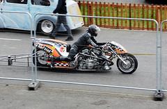 Nitro twin_2553 (Fast an' Bulbous) Tags: bike biker moto motorcycle fast speed power acceleration motorsport santa pod people outdoor drag strip race track racebike dragbike