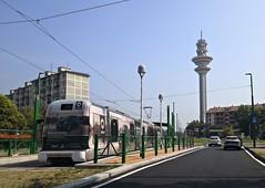 Eurotram ATM Milano 7017 in prove di abilitazione e certificazione del nuovo prolungamento verso Rozzano Centro (Matteo fromMI) Tags: linea15 tram trasportipubblici atmmilano rozzano prolungamentotram15arozzano