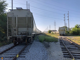 Tom Burke Photo Near Meade Street and Amtrak Station South Bend IN September 15 2018