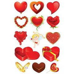Free Vector Beautiful heart shape set design elements (cgvector) Tags: affection balloon box chocolate colorful dating day design element flower friendship glossy happy heart illustration isolated love passion relationship ribbon ring rose symbol valentine vector
