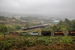 Taff Vale No' 85 & AB 1385/1914 'Rosyth No' 1'  with MK1's easing downhill toward Balenavon (PaulBrysn) Tags: blaenavon wales unitedkingdom gb
