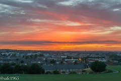 Sunset over Mansfield (safc1965) Tags: sunset sun landscape photography mansfield nottinghamshire uk hiking walking