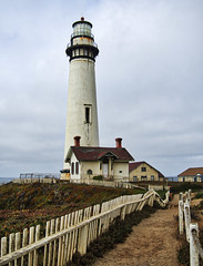 Pidgeon Point Lighthouse, California (neilalderney123) Tags: lighthouse pidgeonpoint history path landscape usa california sanfrancisco travel