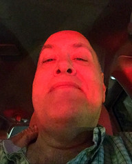 Day 2401: Day 211: Red light (knoopie) Tags: 2018 july iphone picturemail redlight doug knoop knoopie me selfportrait 365days 365daysyear7 year7 365more day2401 day211
