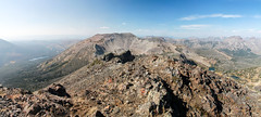 Avalanche from Hoyt (RPahre) Tags: hoytpeak avalanchepeak mountains absarokarange absarokas panorama pano yellowstonenationalpark yellowstone wyoming