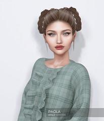 Opale . Paola @ HARAJUKU September 2018 (Opale HairStore) Tags: opale hair salon 3d sl second life korea japan harajuku event