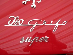 581 Iso Grifo Badge - Iso History (robertknight16) Tags: iso italy italian grifo badge badges automobilia brooklands