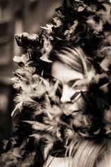 Caitlin Gill (Alice Teeple) Tags: portraits birthday portrait citylife clown performer