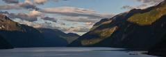 The New Day (Davide'70) Tags: norvegia fiordo geiranger alba atmosfera cielo nuvole mare montagne paesaggio meraviglia silenzio maredelnord maestoso luce unesco