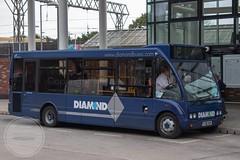 Diamond Bus NW YJ56AUH (Mike McNiven) Tags: diamond bus northwest optare solo altrincham interchange trafford rotala