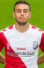 Nassir El Aissati (poedie1984) Tags: nassir el aissati fc utrecht utreg stadium stadion galgenwaard voetbal football eredivisie netherlands dutch holland 2015 2016 hsv wasmeer hilversum oss top jong eerste divisie jupiler league mjällby aif mjallby fk karlskrona zweden sweden marokko hummel zorg van de zaak